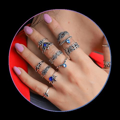 Boho Set Prstenja